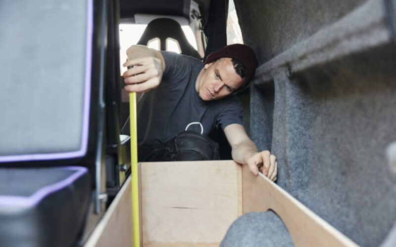 Tips for Organizing an Electrician's Cargo Van